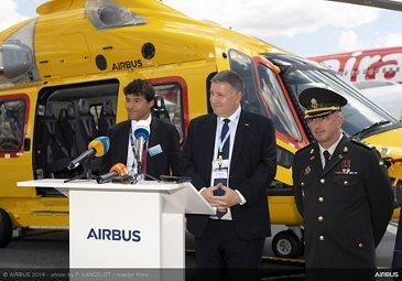 乌克兰内政部和空中客车直升机在巴黎航展上签字- PAS2019第一乐动体育app靠谱吗天