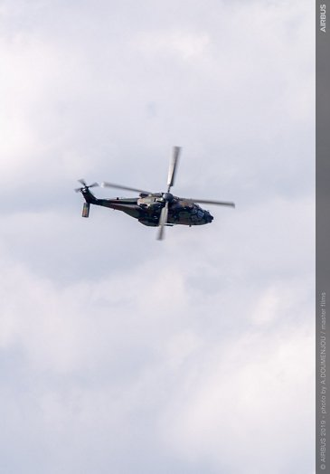 NH90 flying display at Paris Air Show 2019 - Day 1