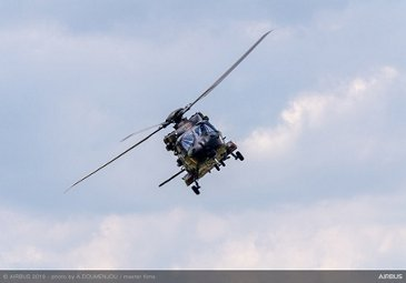 NH90 flying display at Paris Air Show - Day 1