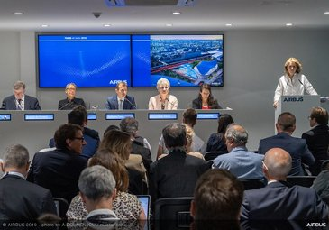 Paris 2024 UAM Media briefing at Paris Airshow 2019 - Day 2