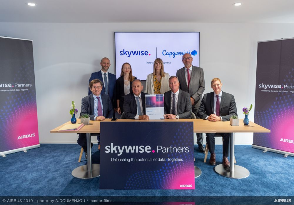 Skywise Partners Programme With Capgemini at Paris Airshow 2019 - Day 3