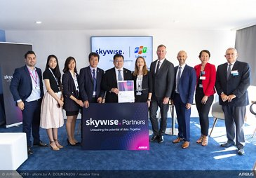 Skywise Partners Programme With FPT Software at Paris Airshow 2019 - Day 3