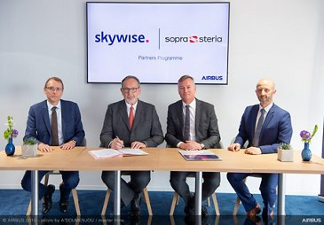 Skywise Partners Programme With Sopra Steria at  Paris Airshow 2019 - Day 3