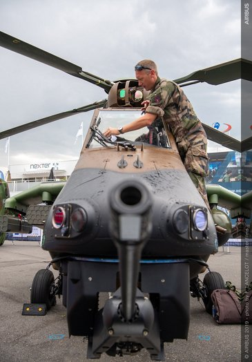 EC665 Tiger static display at Paris Air Show 2019 - Day 3