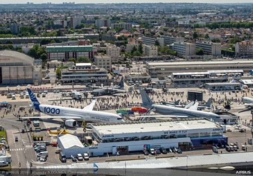 Aerial view – Paris Air Show 2019 – Day 5