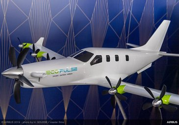 EcoPulse announcement Airbus Daher Safran Partnership - PAS2019 Day 1