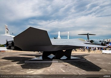 Dassault Aviation And Airbus New Fighter Revealing at Paris Airshow - PAS2019 - Day 2