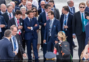 Paris Airshow 2019 Official opening - PAS2019 Day 1