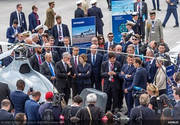 Paris Air Show 2019 official opening -  Day 1