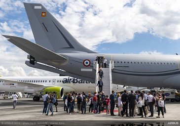 A330 MRTT static display at Paris Airshow 2019 - Day 3