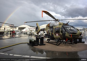 H145M Serbian Air Force static display at Paris Airshow 2019 - Day 4