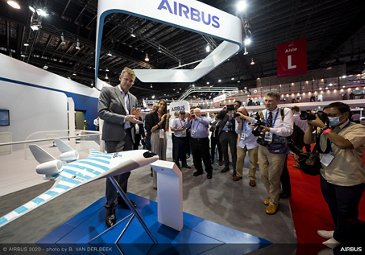 Singapore Airshow - Day 01 - Launch of MAVERIC