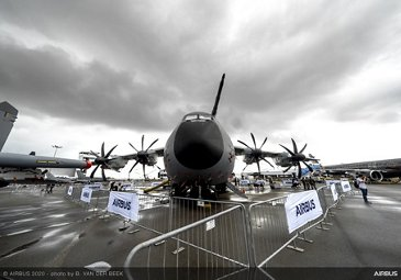 A400M on static display – SGAirshow2020