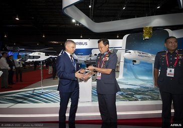 Royal Malaysian Air Force A400M Fleet Award – 2020 Singapore Airshow