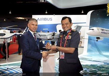 Royal Malaysian Air Force A400M Fleet Award – SGAirshow2020