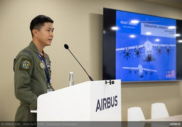 Media Briefing For A400M And C295 - SGAirshow2020
