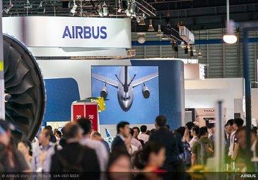 Airbus Exhibit Stand - SGAirshow 2020