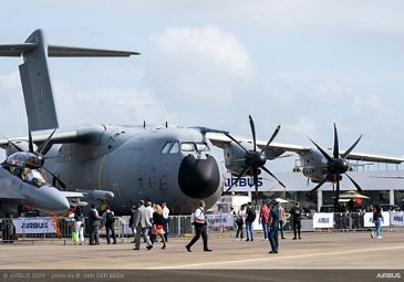 Royal Malaysian Air Force A400M - SGAirshow 2020