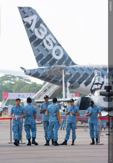Singapore Airshow 2018 Day 1 - static ambiance 3