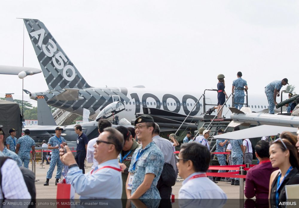 Singapore Airshow 2018 Day 3 - static ambiance 1