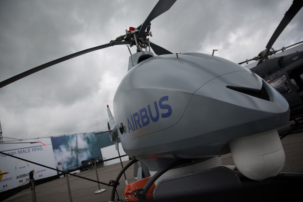 Airbus Helicopters - Static Display with the VSR700