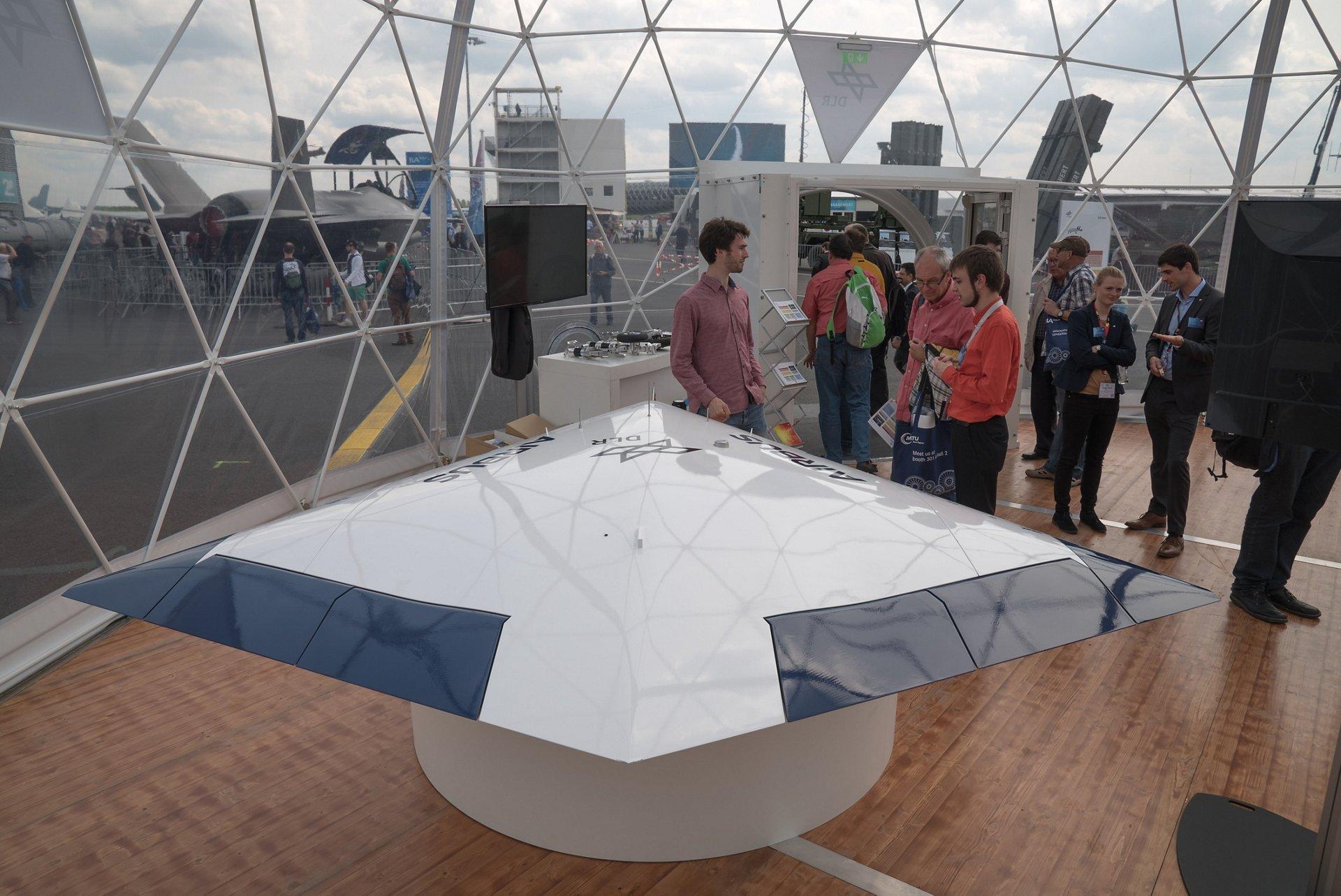 Static Display Sagitta at ILA Berlin 2018