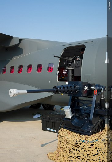 C295 armament highlighted at Dubai Airshow 2017