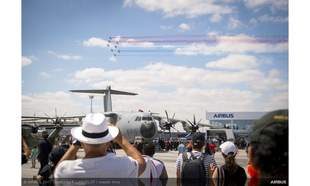 A400M and French Aerobatics Flying Display - 23 June PAS 2017