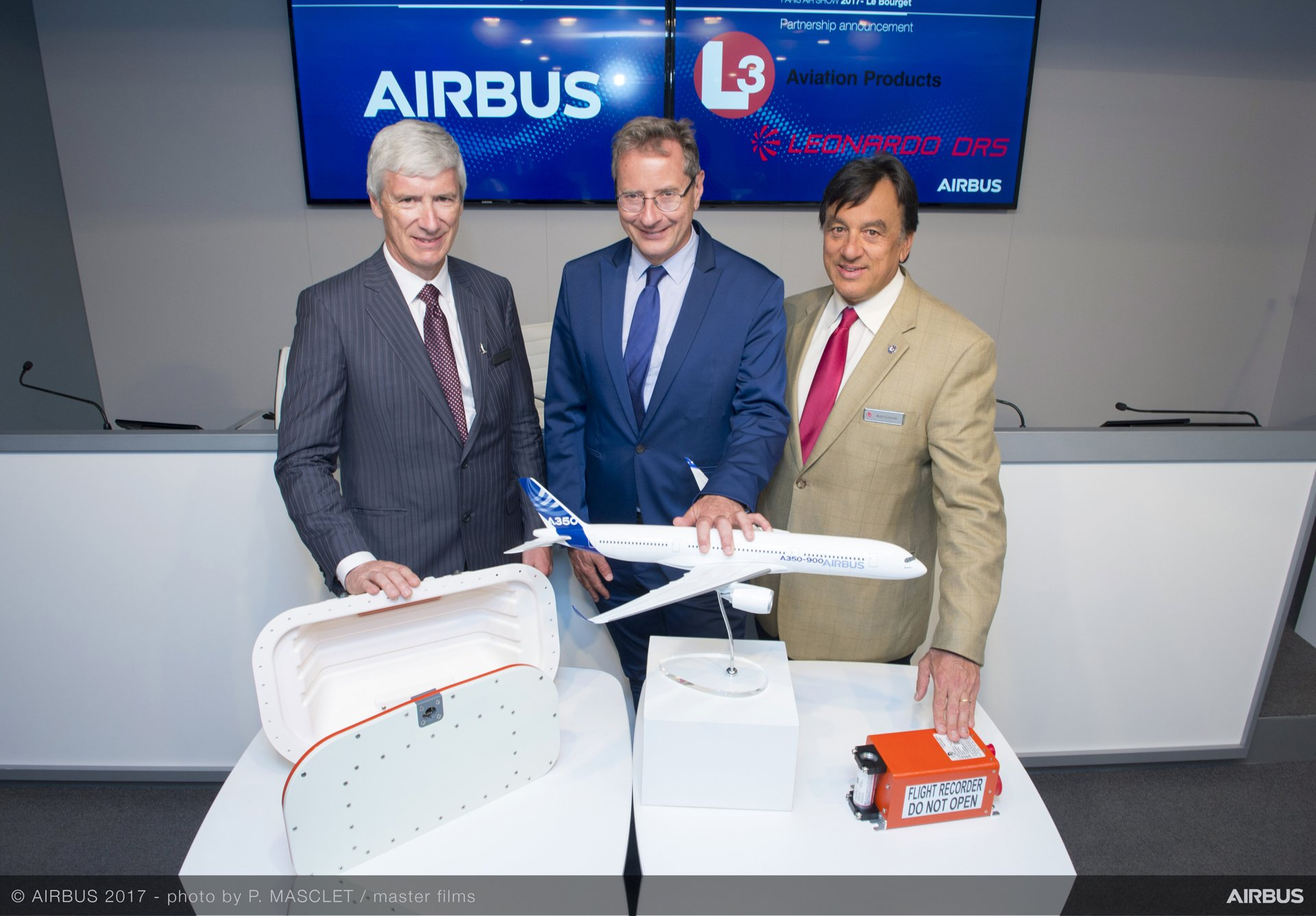 AIRBUS L3 Technologies New Flight Recorders Announcement Day3 PAS2017