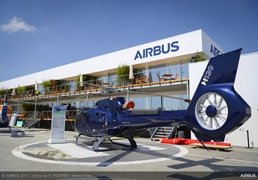 Airbus Helicopters H130 at the 2017 Paris Air Show