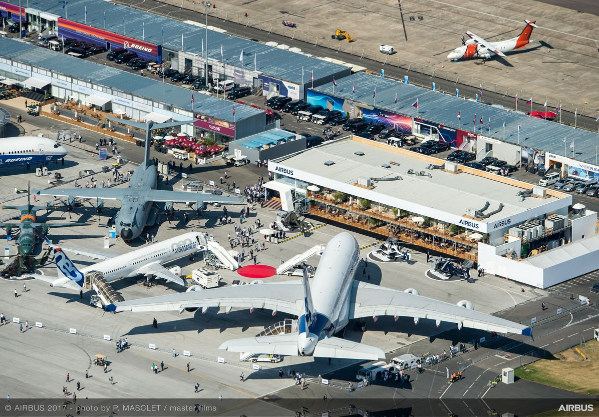 Aerial View Static Display - 20 June PAS 2017