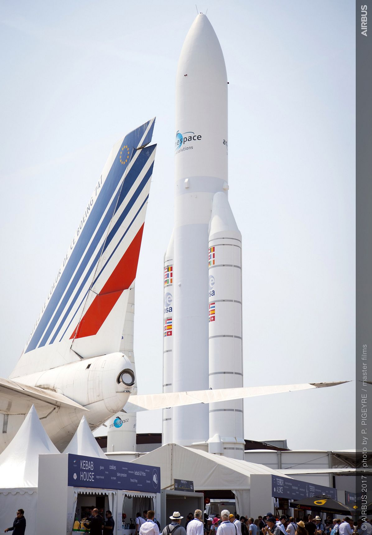 Ariane 5 mock-up - 21 June PAS 2017