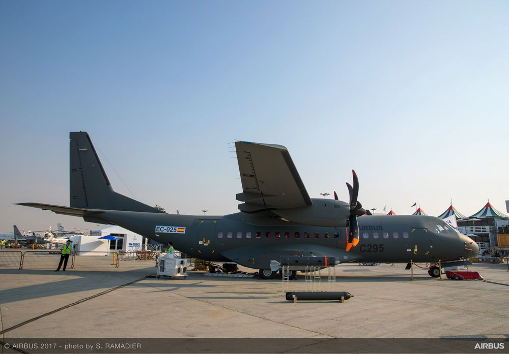 Airbus Defence And Space - Static - Day 0 - Dubai 2017