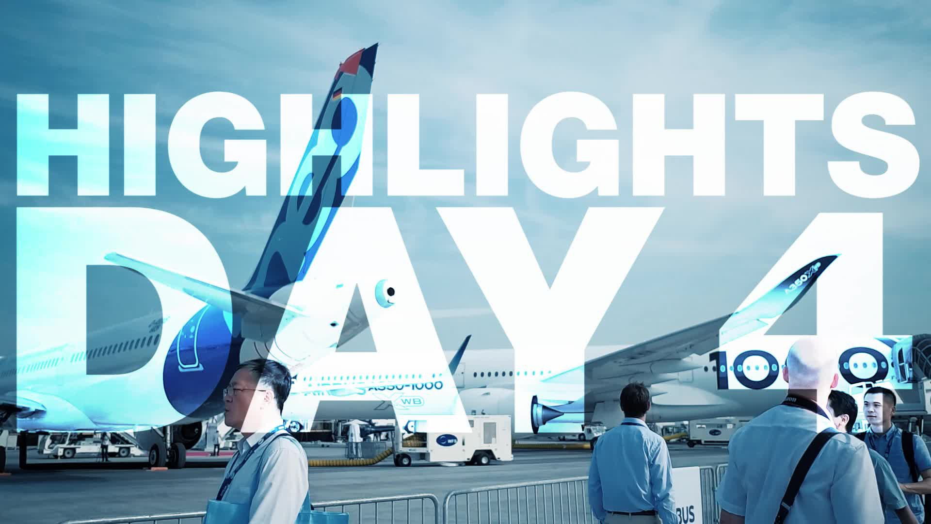 Day 4 at Paris Air Show