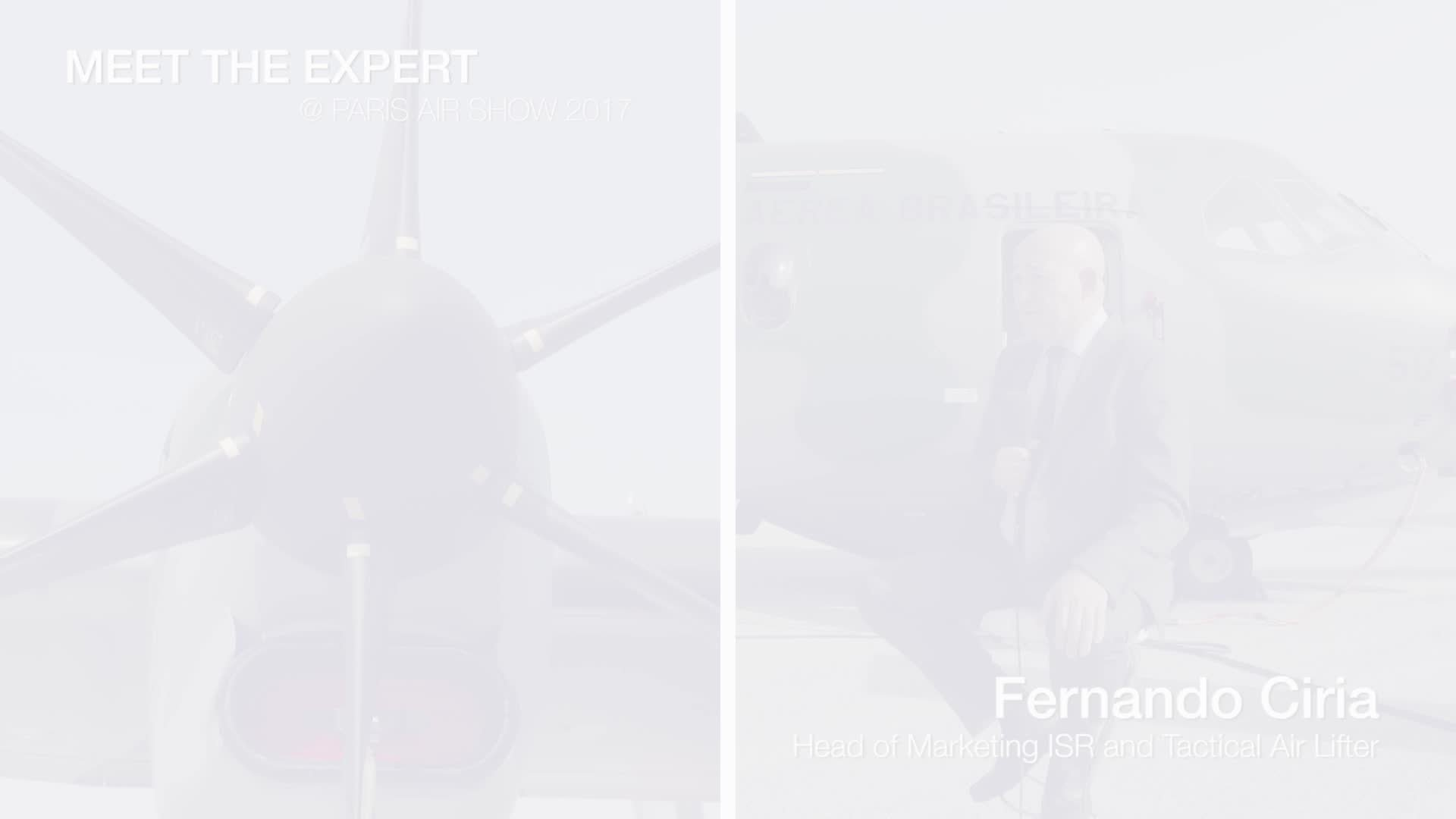 Meet the Expert: Fernando Ciria, Head of Marketing  ISR and Tactical Air Lifter - WEB