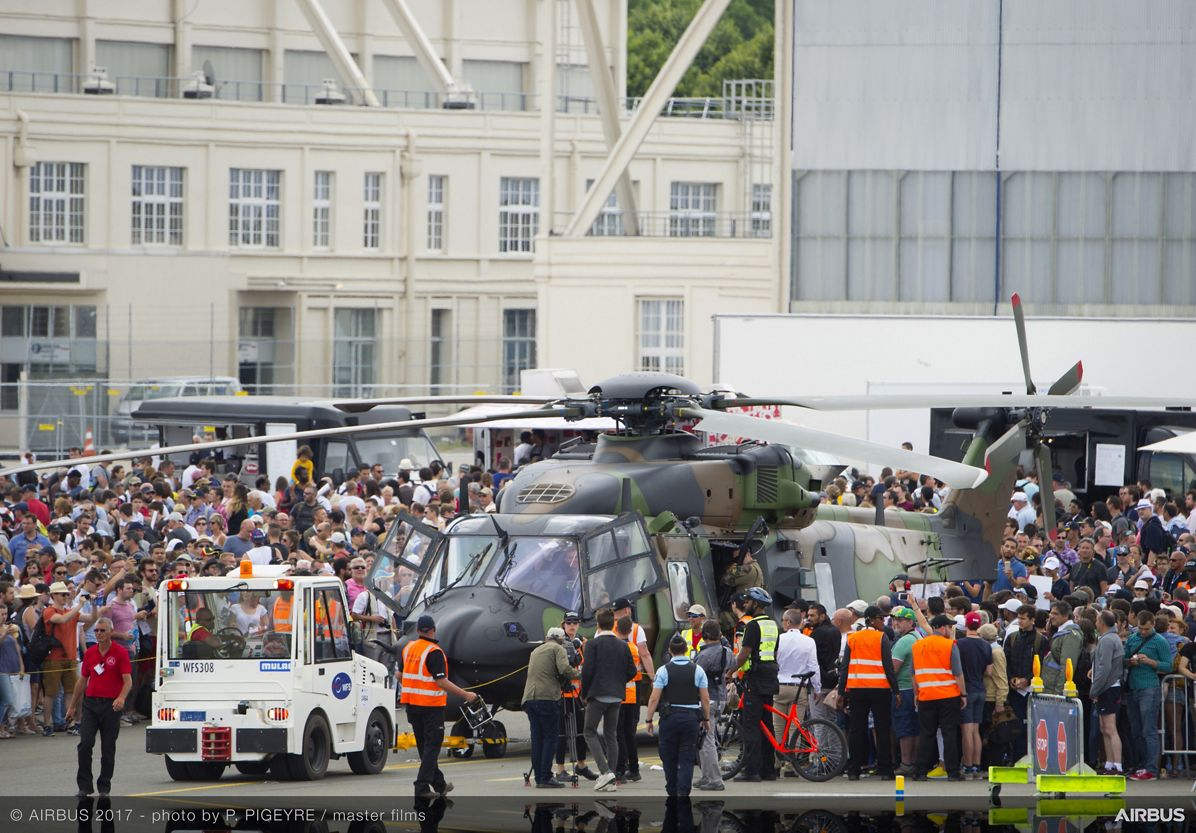 NH90 Static Display -  24 June PAS 2017