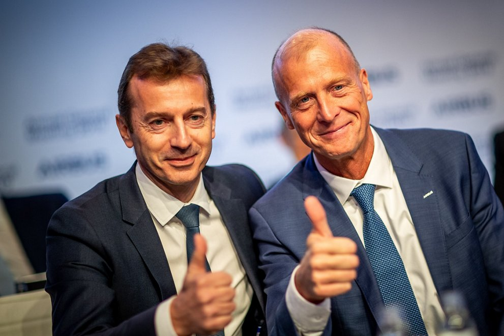 Annual General Meeting 2019 - Guillaume Faury and Tom Enders