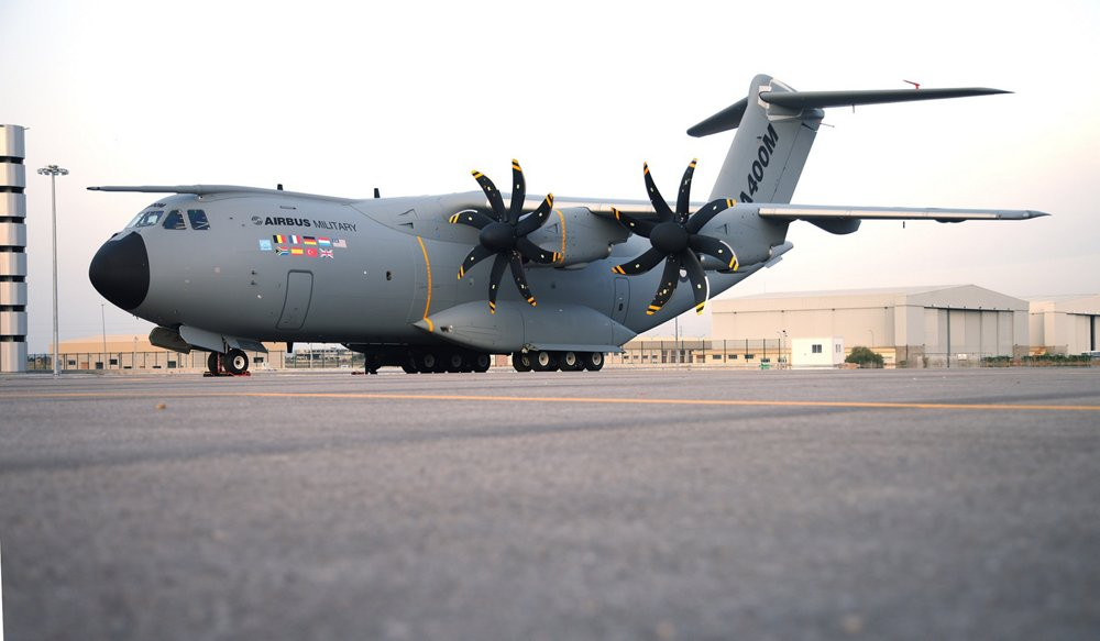 In a ceremony presided over by His Majesty Juan Carlos, Airbus Military has today rolled out the first complete A400M military transport aircraft from the final assembly line in Seville, Spain.
