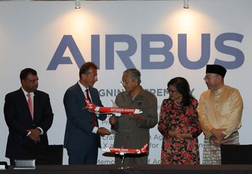 Airbus expanding its industrial presence in Malaysia – signing ceremony
