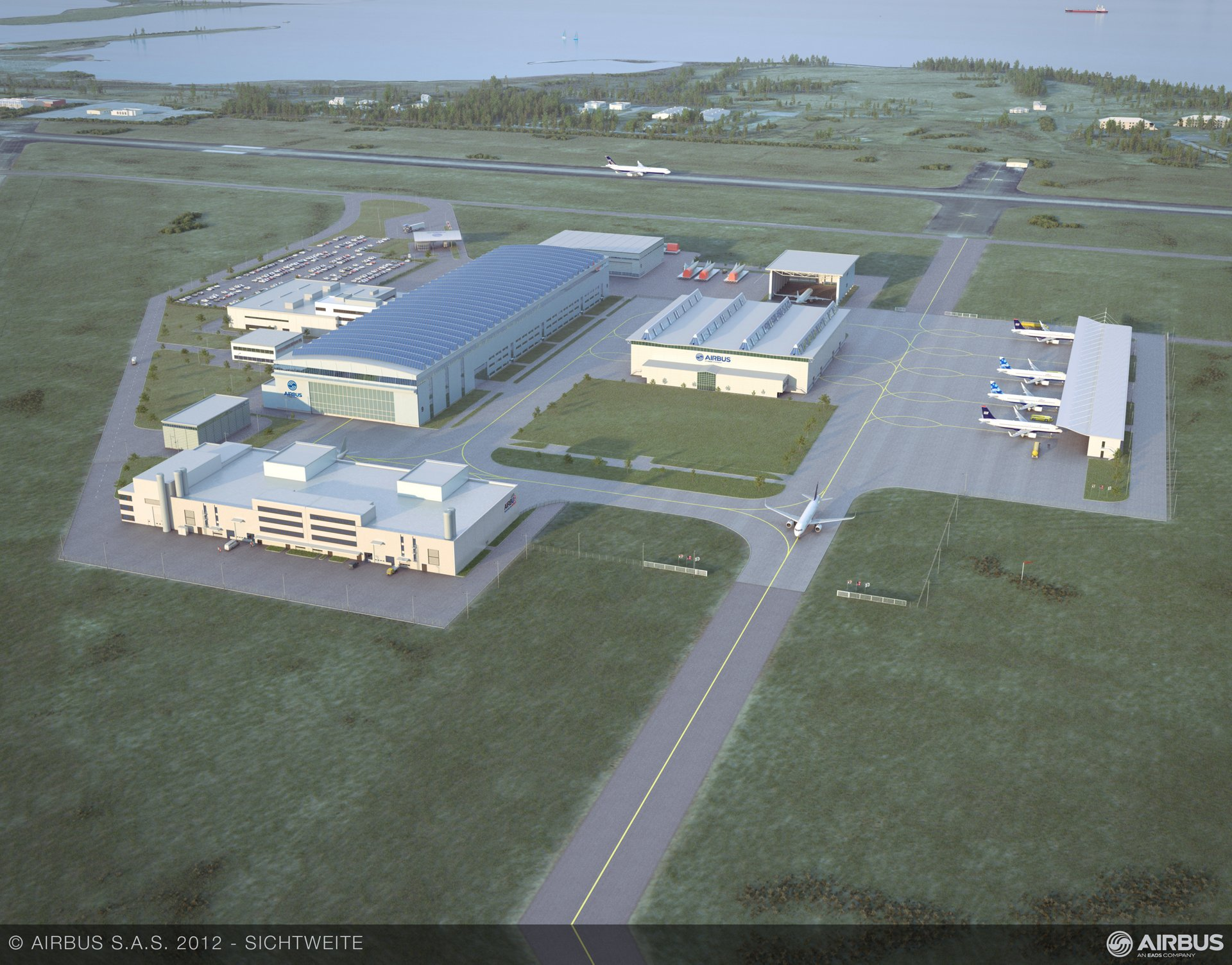 Airbus' first U.S.-based production facility – which will build A320 Family jetliners at the Brookley Aeroplex in Mobile, Alabama, beginning in 2015 – will produce between 40 and 50 aircraft annually by 2018