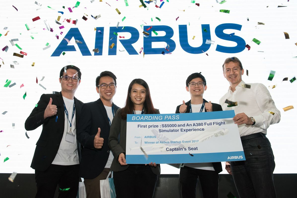 Airbus start-up event_Winning team
