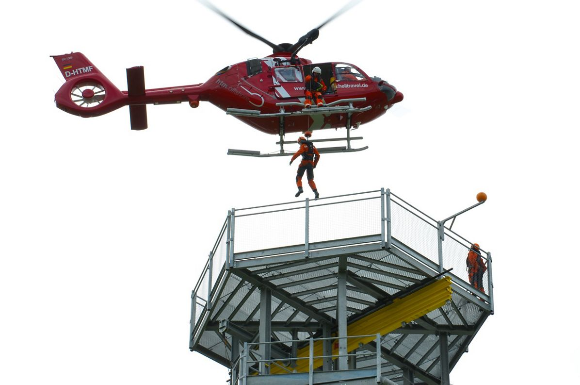 Airbus Helicopters delivers first H135 for offshore wind operations to HTM in Germany