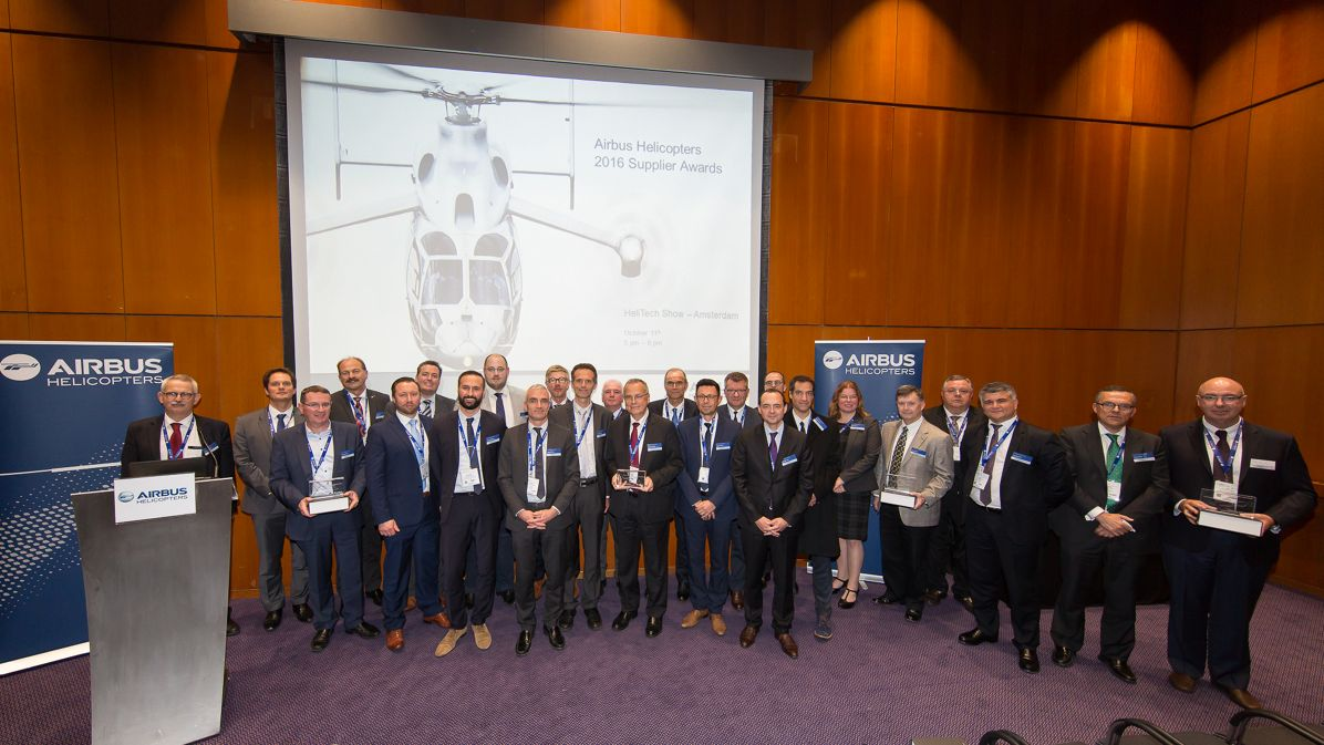Airbus Helicopters awards best suppliers in second awards ceremony