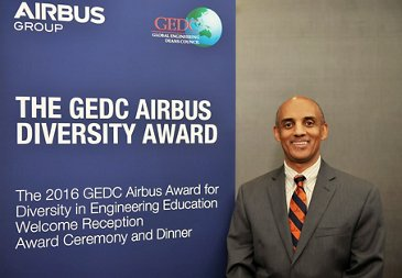 Airbus Diversity Award 2016 Recipient, Yacob Astatke