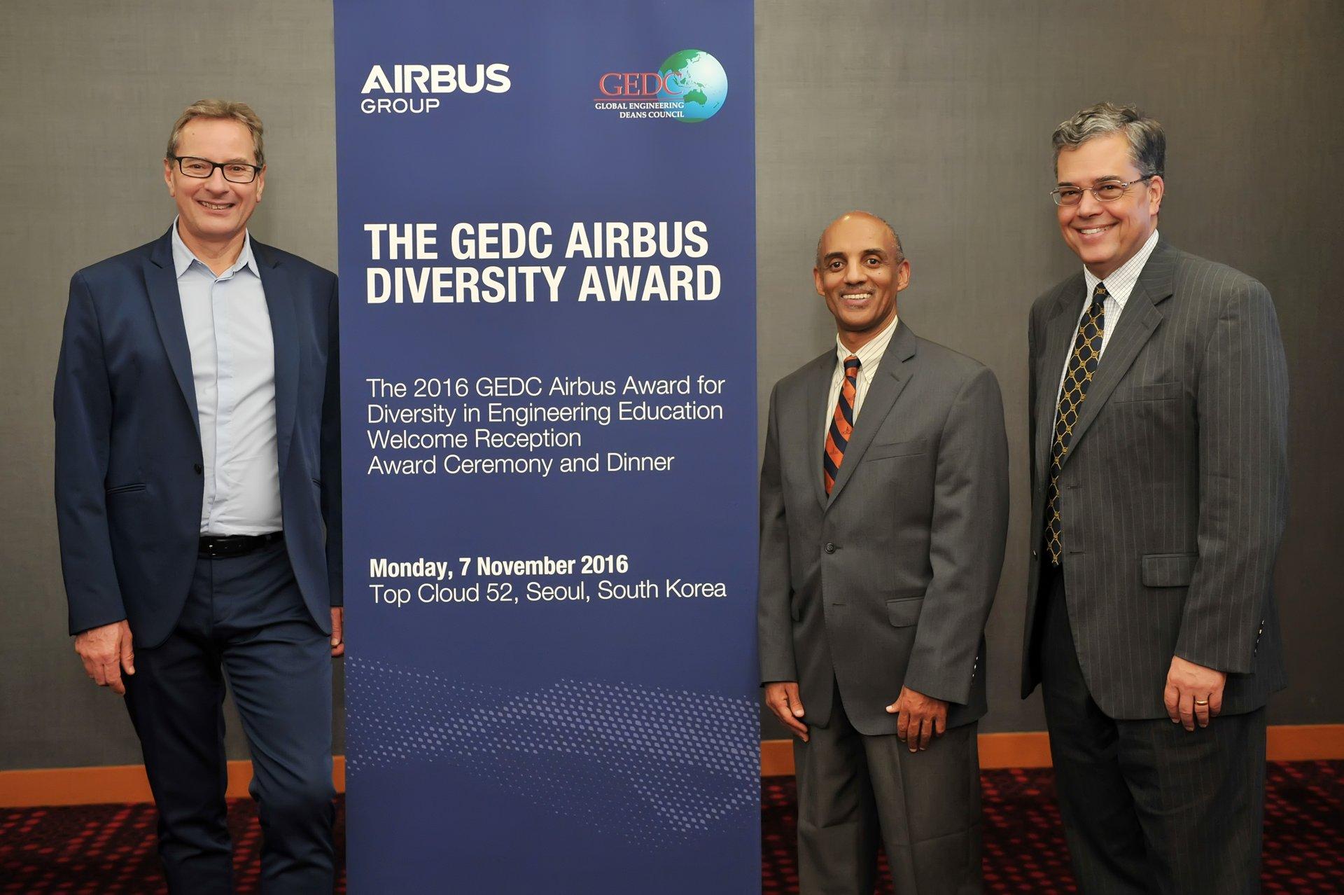 GEDC Airbus Diversity Award 2016
