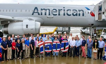 Milestone 1,500th Airbus aircraft for North America is delivered to American Airlines