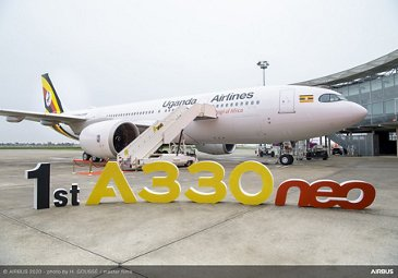 First A330neo delivery for Uganda Airlines