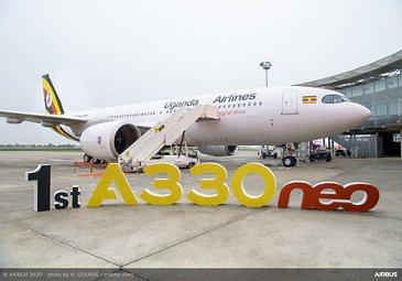 乌干达航空公司首次交付A330neo
