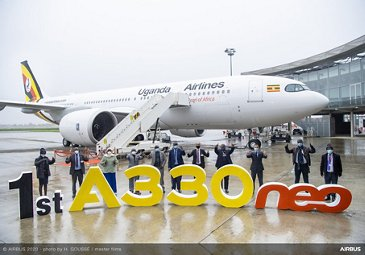 Uganda Airlines receives first A330neo