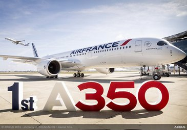 1st A350-900 Air France MSN331 Delivery - On ground